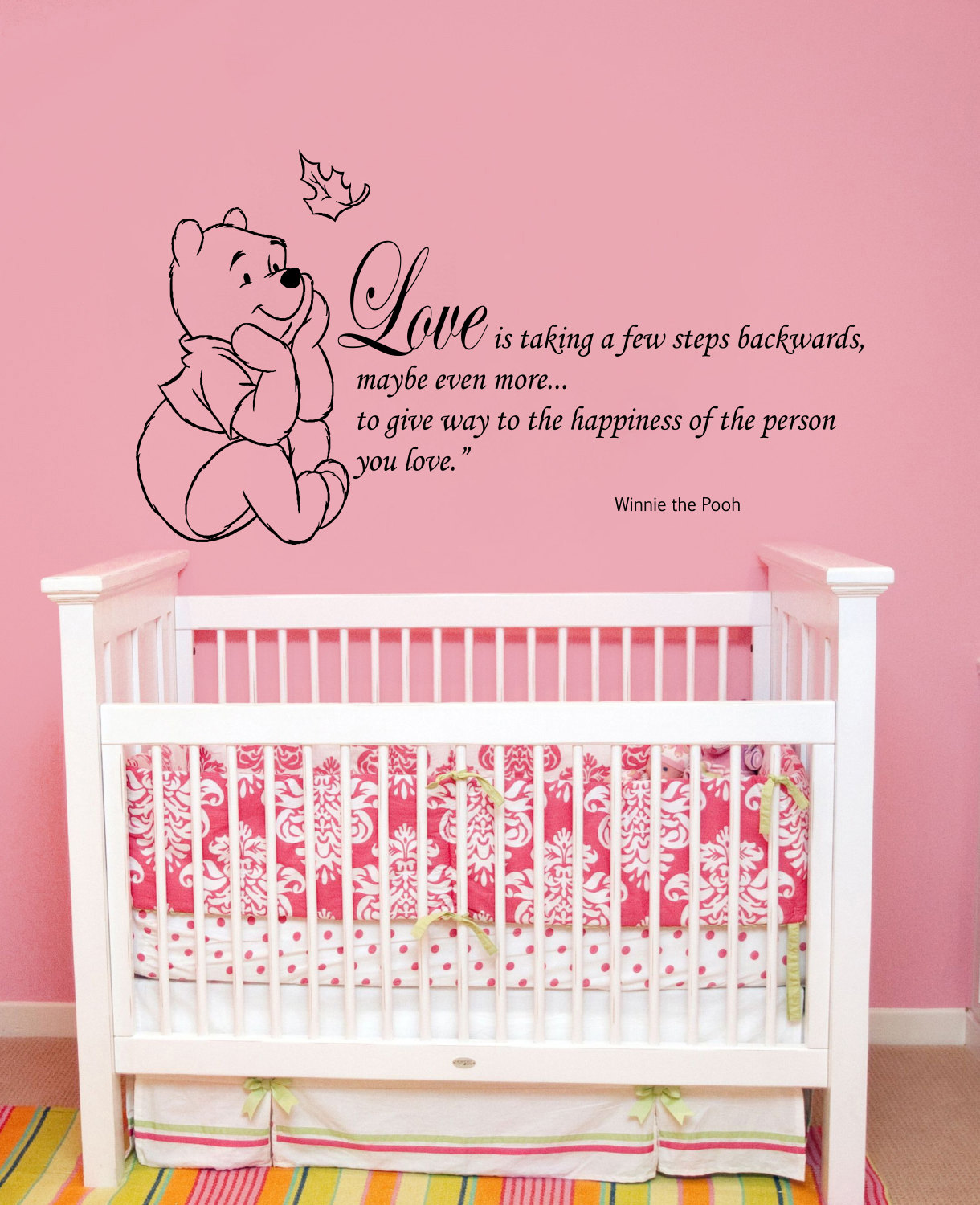 Winnie The Pooh Wall Quotes: Wall Decals Quotes Winnie The Pooh Wall Decal Quote By