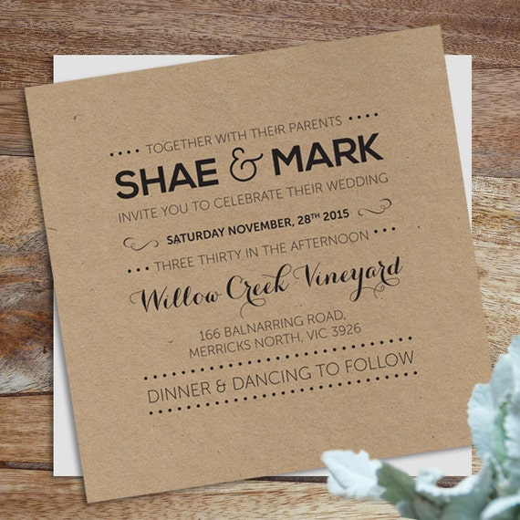 Wedding invitation invites rsvp wedding digital download for Digital wedding invitations with rsvp