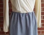 Vintage Long Sleeve Cream...
