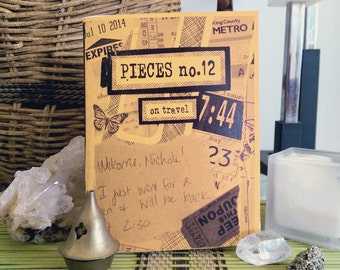 Pieces 12: On Travel (Perzine)