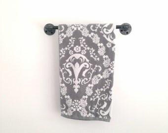 Pipework Towel Bar