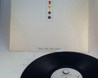 ELTON JOHN Two Low For Zero Vintage Vinyl 33 Record Album LP 1983 Greffen Records Ghs 4006