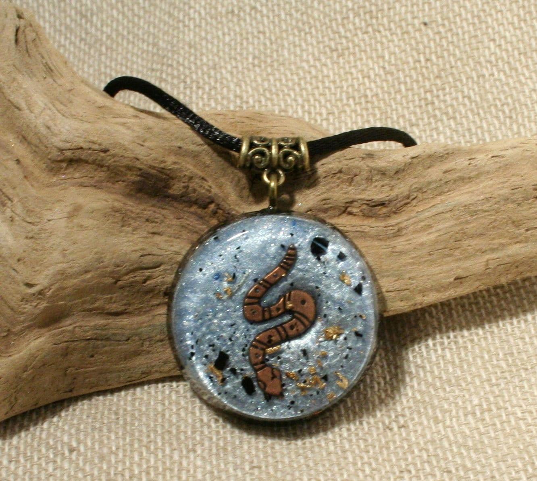 Best emf protection jewelry tourmaline orgone pendant necklace orgonite pendant black tourmaline emf by orgoniseyourself aloadofball Images