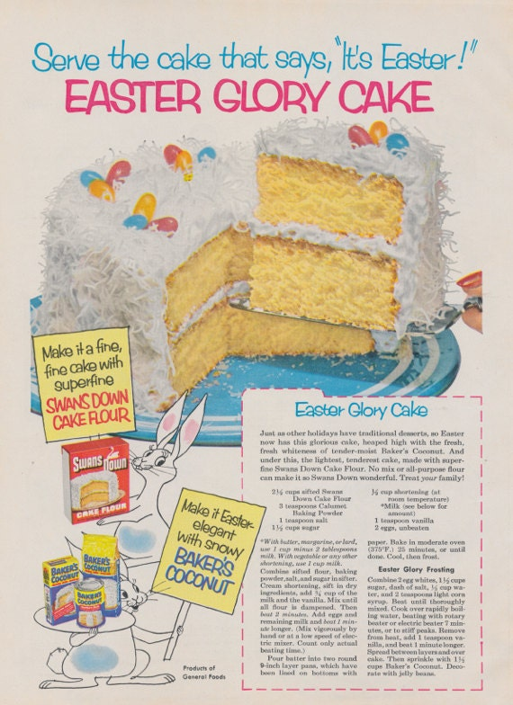 1950s Easter Coconut C...