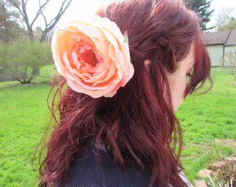 Large Peony Hair Accessory