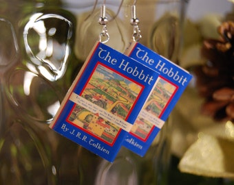 The Hobbit Book Earrings