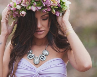 50% off! Pastel Purple Twist Bandeau