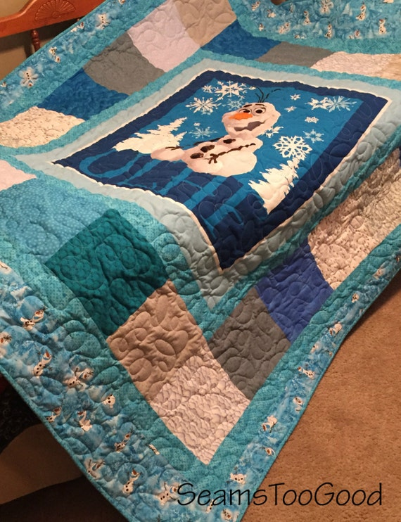 Disney S Frozen Twin Size Quilt Olaf Twin Size Quilt