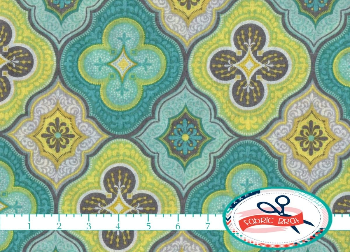 Morocco Fabric By The Yard Fat Quarter Moroccan By Fabricbrat