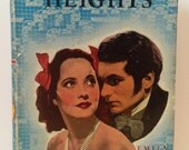 Vintage Wuthering Heights by Emily Brontë Art-Type Edition Hardcover w Dust Jacket 1939 Film Lawrence Olivier & Merle Oberon Cover Portrait