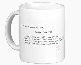 Pride and Prejudice Darcy Mug
