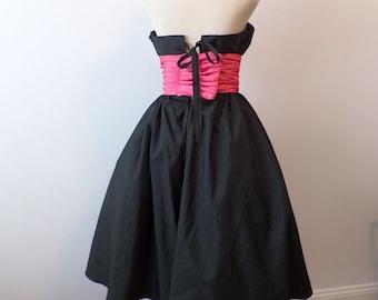 Vintage Mike Benet Label Formal Gown