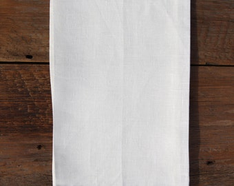 Decorative Linen Hand Towel with Lace Border