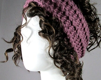 Dusty Rose Knitted headband, Earwarmer, Head Band, Chunky  knitted Headband, cold weather accessories