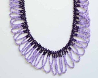 WAVES Beaded Necklace