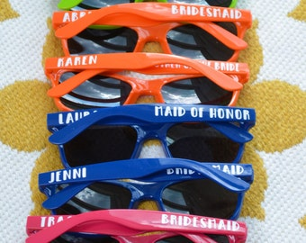 Personalized Bachelor Bachelorette Party Sunglasses