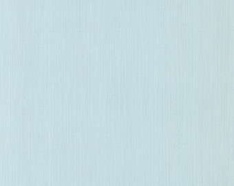 Items similar to blue and white mini stripe wallpaper - Light blue linen wallpaper ...