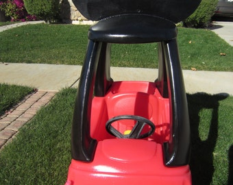 Mickey Mouse Car Cozy Coupe Kit Vinyl Sticker and Tutorial Package- NO CAR INCLUDED!