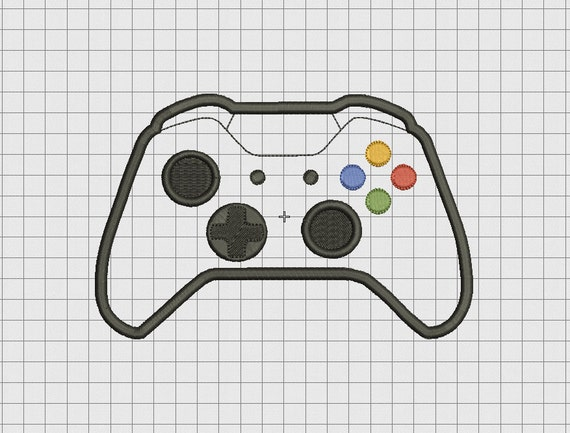 Video game controller microsoft xbox one xbone style applique