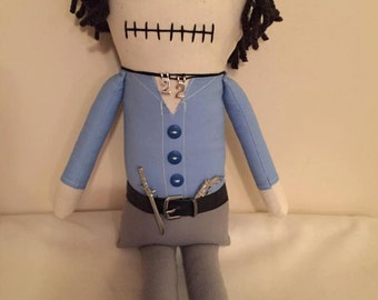 Shane - Inspired by TWD - Creepy n Cute Zombie Doll (D)