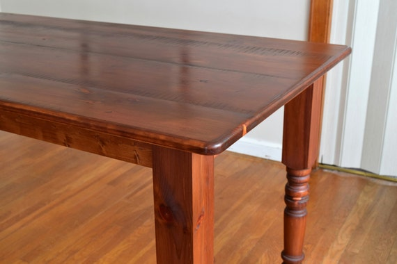 rustic kitchen island table farmhouse by sugarmtnwoodworks