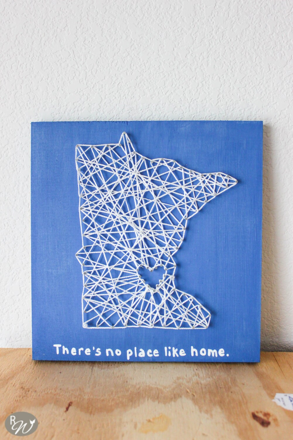 Nail Art Ideas state nail string art : There's no place like home string art State String Art
