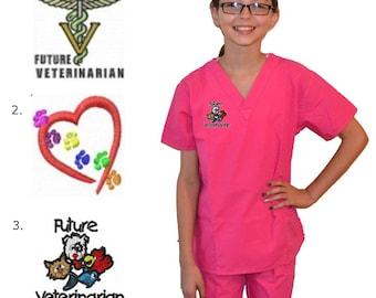 Kids Veterinarian Scrubs