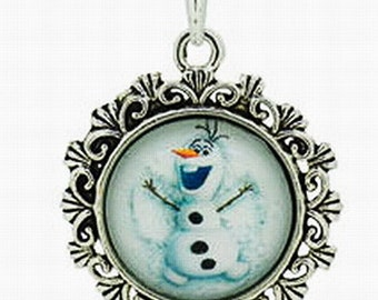 Clearance ~ Frozen Olaf Necklace!  Perfect for Birthday Favors!