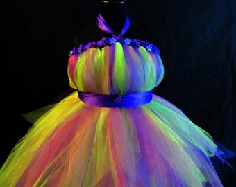 Citrus Mix Tutu Dress
