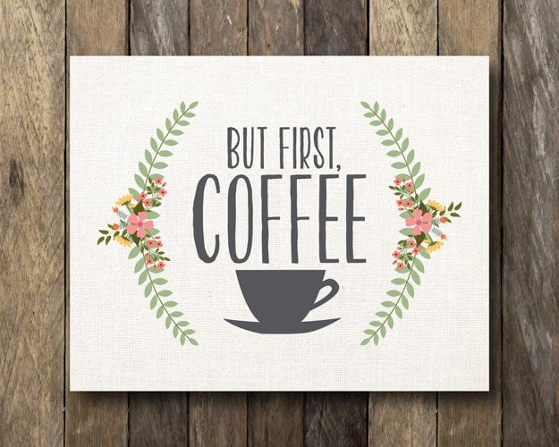 Nerdy image with but first coffee free printable