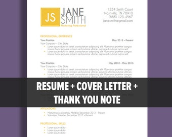End a cover letter with thank you