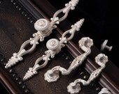 Dresser Pull Drawer Pulls Handles Knobs Kitchen Cabinet Pull Handle White Gold Bail Drop Decorative Furniture Pulls Hardware