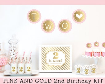 Baby girl second birthday party ideas