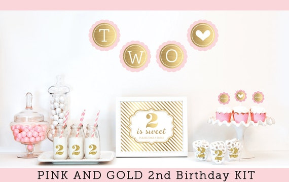 2nd birthday girl birthday party decorations 2nd birthday for 2nd birthday decoration ideas