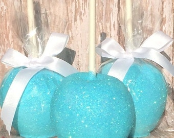 chocolate covered apple wedding birthday baby bridal shower favors