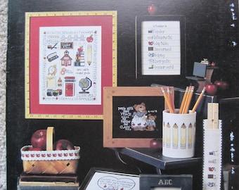 eBook - Cross Stitch Patterns - A Teacher Is...- Leisure Arts #612 - Vintage 1988