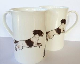 Springer Spaniel Springing Mug