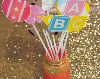 Baby Shower Photobooth Props - Make beautiful memories!