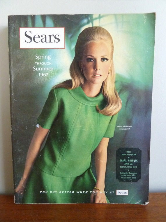 1967 Sears Catalog Spring Summer Vintage Fashion