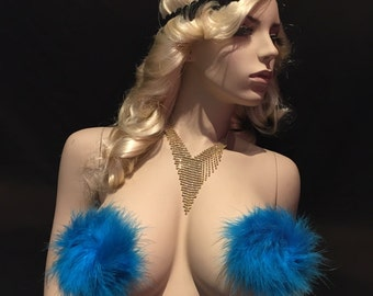 Marabou Feather Pasties