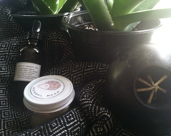 SPRING CLEANING SEPCIAL Queen of Hungary Water and Herbal Mask