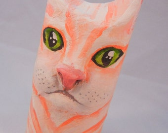 Cat Totem (paper mache)