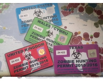 Zombie hunting permit 2017/2018
