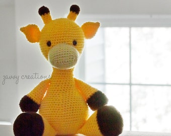 Amigurumi Giraffe | Made to Order