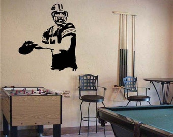 Aaron Rodgers Green Bay Packers Football Vinyl Wall Sticker Decal 40 Part 6
