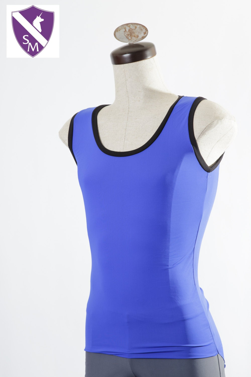 edm clothing edc neon tank tight tank top blank by