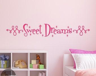 Sweet Dreams Vinyl Wall Decal Sticker Nusery Bedroom