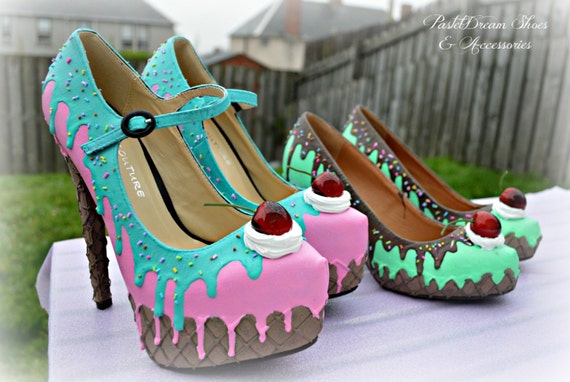 Cupcake Converse Shoes For Sale