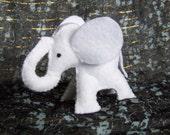White Elephant Gift White Elephant Felt Plush