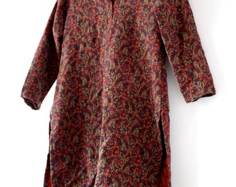 Vintage Boho/Hippie Floral Tunic | Size Small